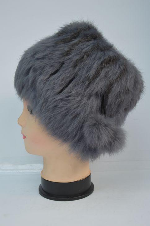 Натуральная меховая женская шапка кубанка