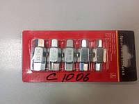 Набор ключей для откручивания масляных пробок 5 предметов 1-C1006
