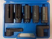 Набор головок для кислородных датчиков, (лямбда-зонда) 7 предметов 1-E1017