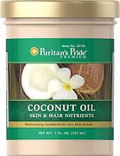 Puritan's Pride Coconut Oil for Skin & Hair 7 fl oz Oil