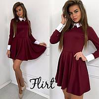 Короткое платье из трикотажа тв-10001-3