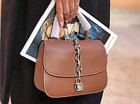 Женская сумочка LOUIS VUITTON CHAIN IT  натуральная кожа