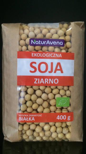Соевые бобы Naturavena 400г.