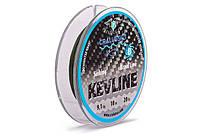 Поводковый материал Cralusso Kevline Sinking 8 Braid Line 10 м 15 lbs 6.8 кг