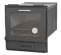 Духовка застекленная литая c термометром 380×360×485 мм