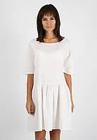 Свободное платье  из 100% льна , фото 1