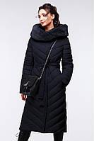 Стильное стеганное длинное пальто Nui Very (Нью Вери) Фелиция 2, р-ры 44,46,50,52,54,56,58