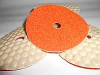 Алмазные гибкие шлифовальные круги черепашки № 3 для сухой обработки камня, керамики, стекла, металла