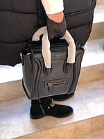 Мини-сумочка Celine Nano 20 см натуральная кожа