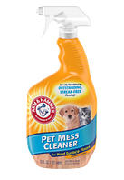 ARM & HAMMER Pet Stain & Odor Eliminator Plus OXICLEAN Уничтожитель пятен и запахов животных, 1,89л