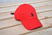 Бейсболка кепка Polo Ralph Lauren / Поло Ральф Лорен / красный