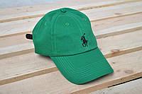 Бейсболка кепка Polo Ralph Lauren / Поло Ральф Лорен / зеленый