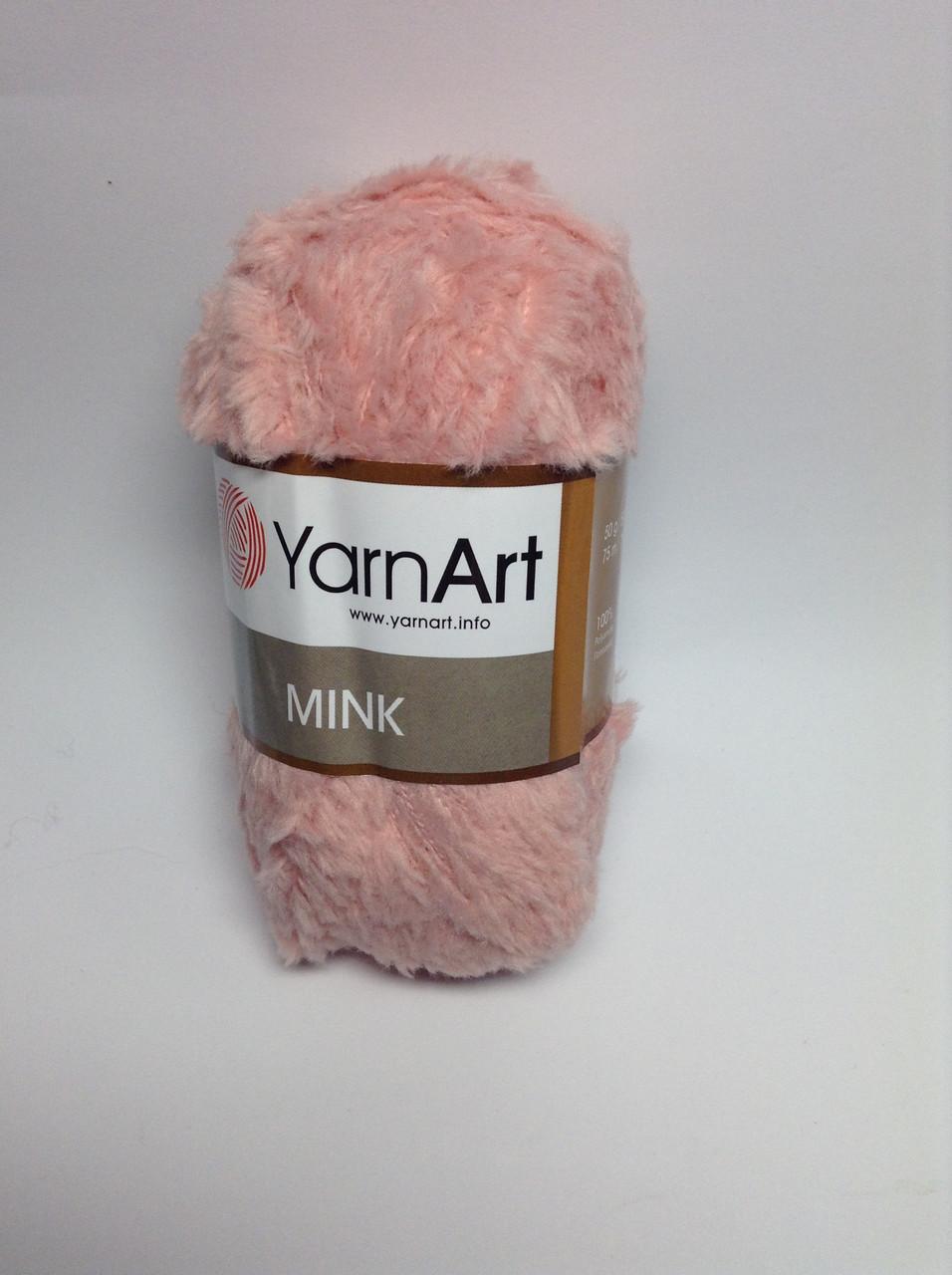 Пряжа mink YarnArt (плюшевая)