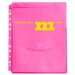 """Папка-конверт LEO 6177 А4 на липучці з вертикальною перфорацією """"Coloriche"""