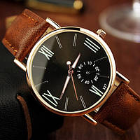 Мужские наручные часы Коричневый, Черный