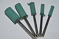 Резиновая полировальная насадка 16*8*3 (зелёная) FINISH