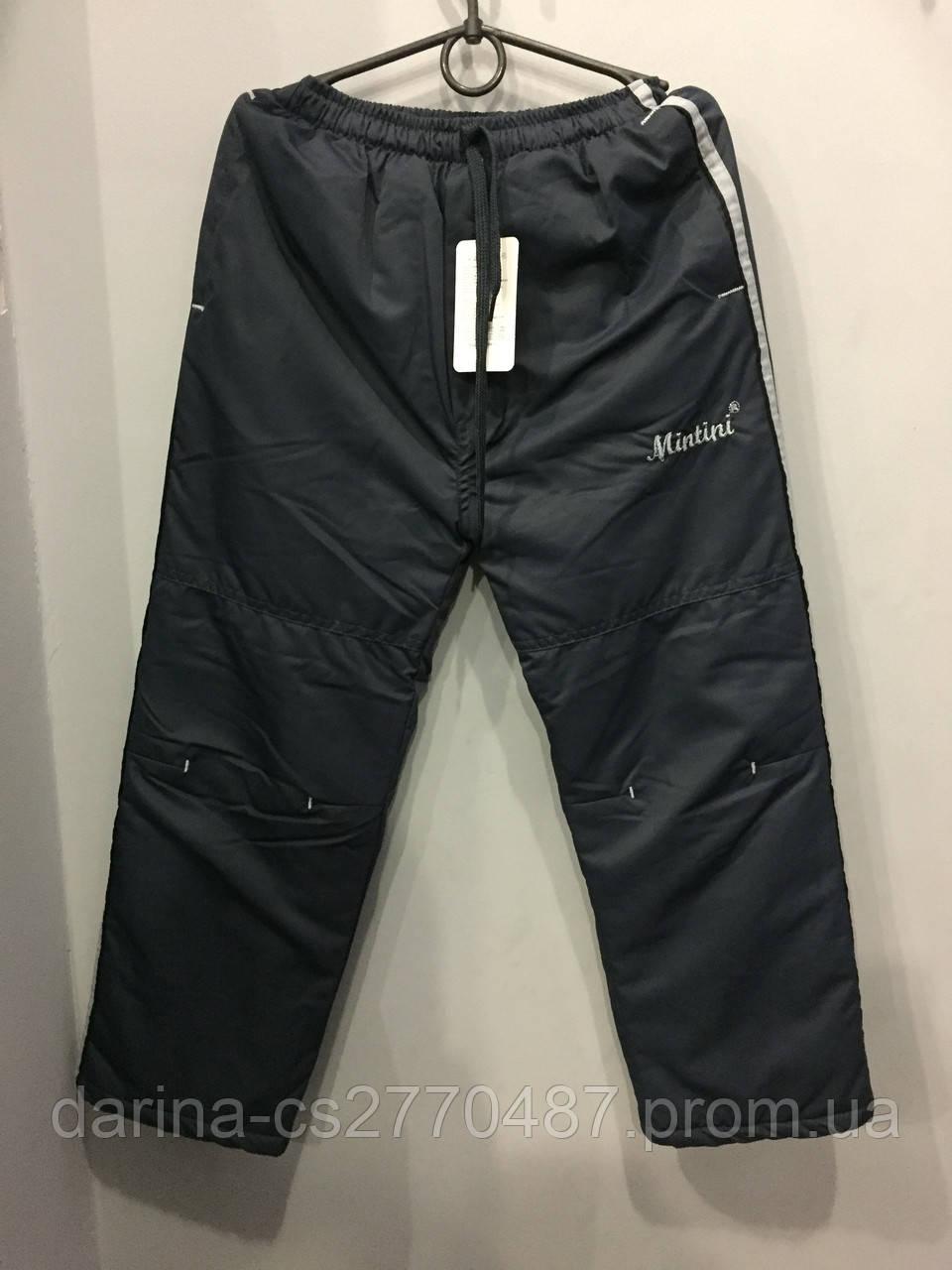 Подростковые штаны на флисе для мальчика