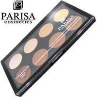 Parisa Набор сухих контуров для лица Highlight & Contour Pro Palette HL-08 8-цв 21,6г