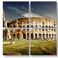 Модульная картина Колизей 3d