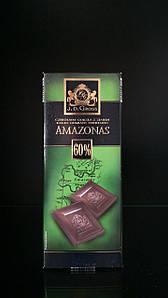 Экстра черный шоколад J.D.Gross - AMAZONAS  125г