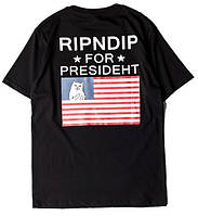 Футболка с принтом RipNDip ror Presideht мужская