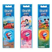 Детские зубные щетки, насадки