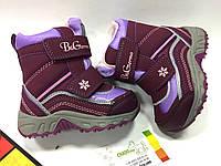 Детские термоботинки B&G для девочки 22-27