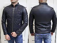 Куртка мужская Versace Jeans узорное тиснениеTурция  Супер качество