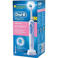 Электрическая зубная щетка Oral-B Vitality, D12. 513, Sensitive, фото 1