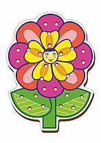 Шнуровка цветная, «Цветочек-2»