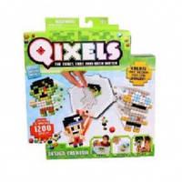 Игровой набор аквамозаики из пикселей - ДИЗАЙНЕР (1 200 фишек, спрей, шаблоны) от Qixels - под заказ