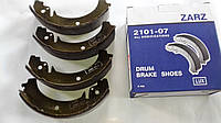 Колодки тормозные задние ваз 2101, 2102,  2104, 2105, 2107 ЗАРЗ Люкс, фото 1