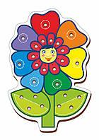 Шнуровка цветная, «Цветочек-1»