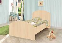 Детская мебель кровать KRM с ящиком для белья (размер 90х190 см) ТМ Вальтер Венге светлый