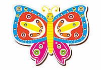 Шнуровка цветная, «Бабочка-1»