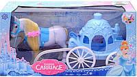 Игрушечная карета с лошадью 686-720