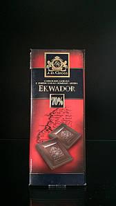 Черный шоколад премиум 70% J.D. Gross  125г