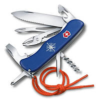 Удобный складной нож 18 функций Victorinox Skipper   0.8593.2W синий корпус