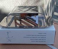 Масленка с крышкой 0727, металл и акрил