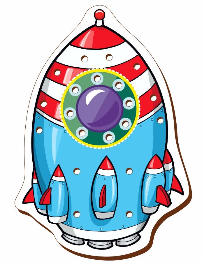 Шнуровка цветная, «Ракета»