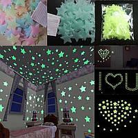 Светящиеся звезды на стену или потолок! Звездочки с фосфором!, фото 1