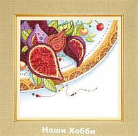 """Набор для вышивания крестом ВТ-186 """"Краски Востока. Инжир"""" Crystal Art"""