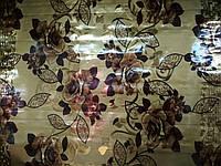 Клеенка силикон 2-х сторонний золото 4444