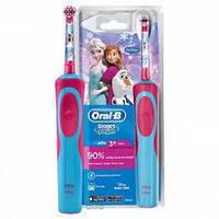 Детская электрическая зубная щетка Oral-B D12. 513 Stages Power (для девочки)