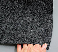 Авто ковролин тягучий, черный шир.1,7м,ковролин для авто, фото 1