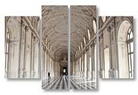 Модульная картина большой холл