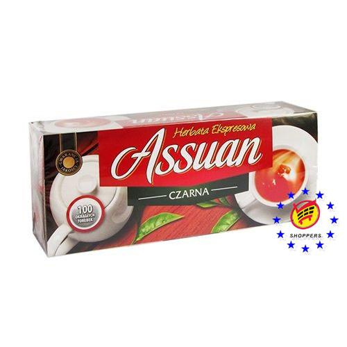 Чай чорный Assuan (Ассуан) 100 пакетов