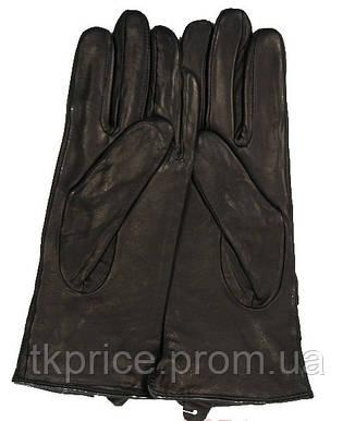 Женские кожаные перчатки (лайка) на шерсти, фото 2