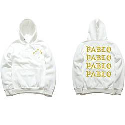 Толстовка белая I Feel Like Pablo   худи пабло   кенгурушка лайк пабло