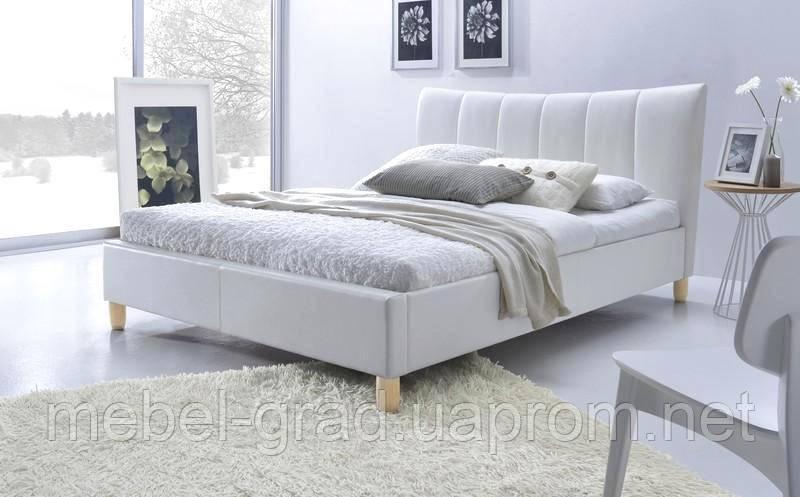 Кровать двухспальная Sandy / Санди Halmar белый